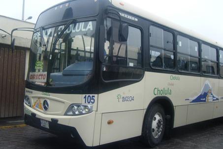 Camión a Cholula