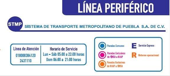 Línea Periférico Puebla